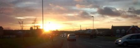 Sunset....Portlaoise, Ireland